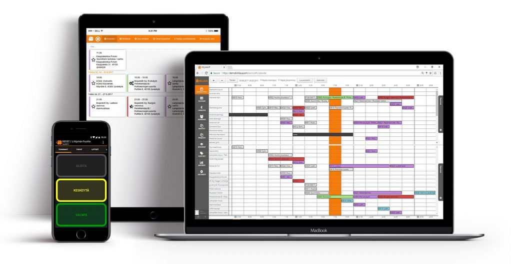 Hillava-toiminnanohjausjärjestelmä - mobiili ERP taipuu päätteelle ja puhelimeen