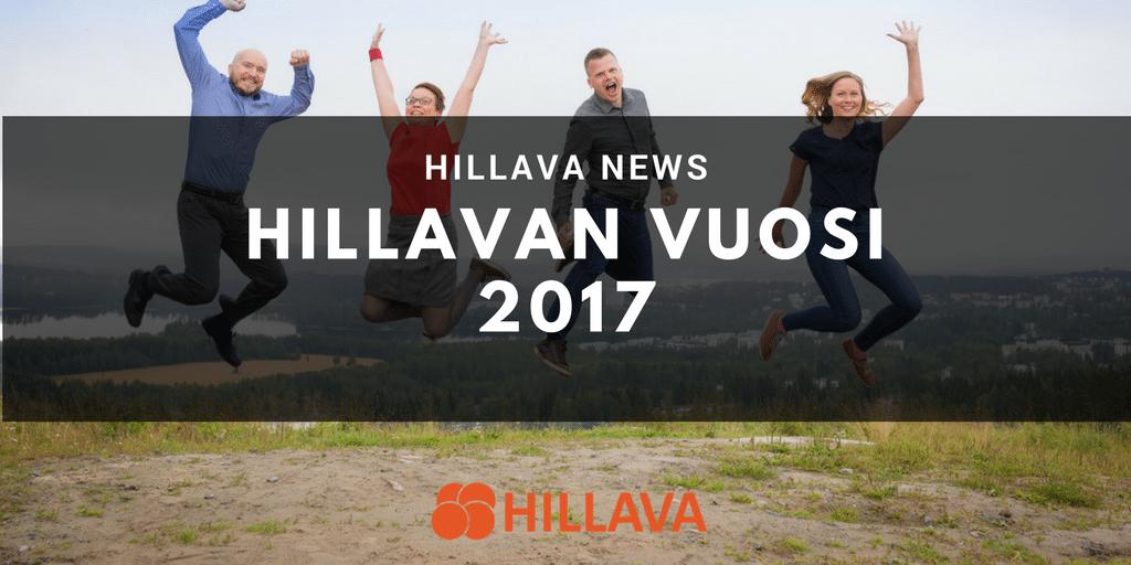Hillava News - Hillavan vuosi 2017