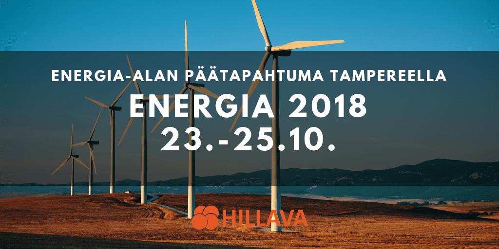 Hillava Energia 2018 -tapahtumassa
